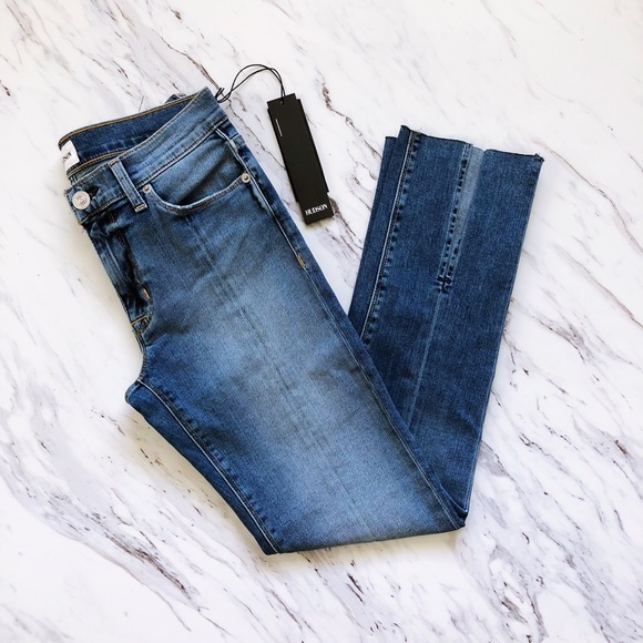 4265b450a47 Hudson Jeans Jeans | Hudson Midrise Nico Straight With Slits | Poshmark